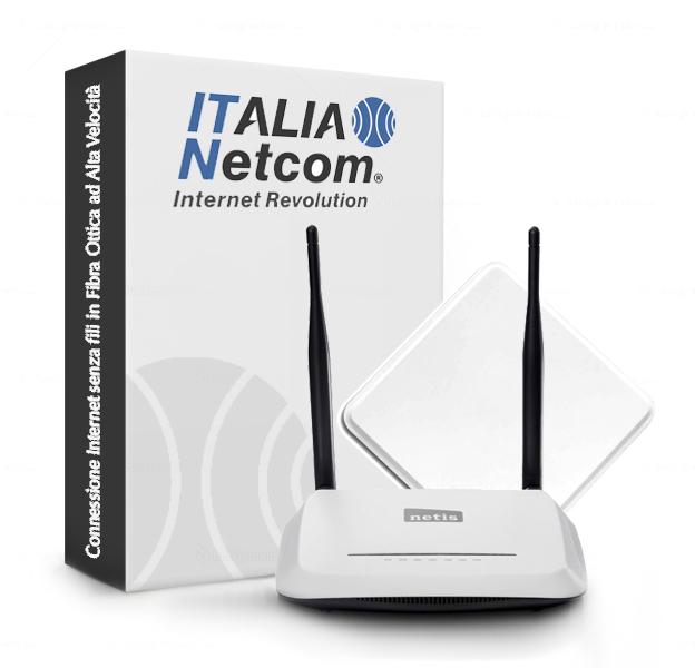 Italianet com internet revolution wisp provider for Internet senza fili casa